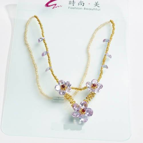 selling crystal  pendant jewelry NK003
