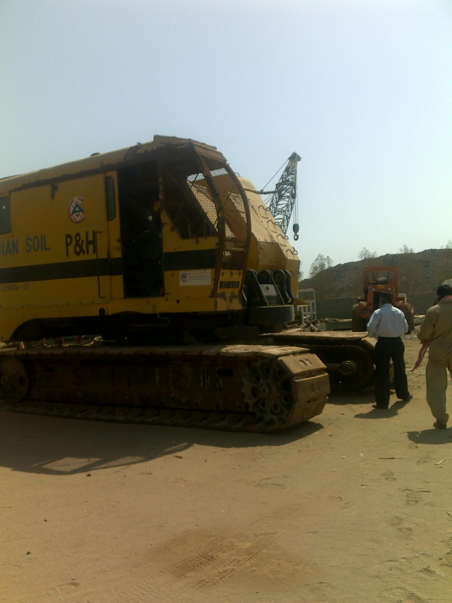 P&H 995 ALC CRAWLER CRANE