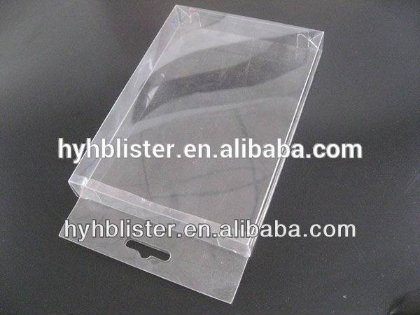 Supply PVC,PET plastic folding box