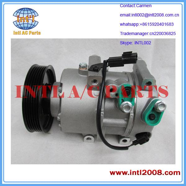 DVE18 Auto Compressor 977012P400 1F3BE06400 97701-2P400 77012P400 1F3BE-06400 For Kia Sorento 2.4L