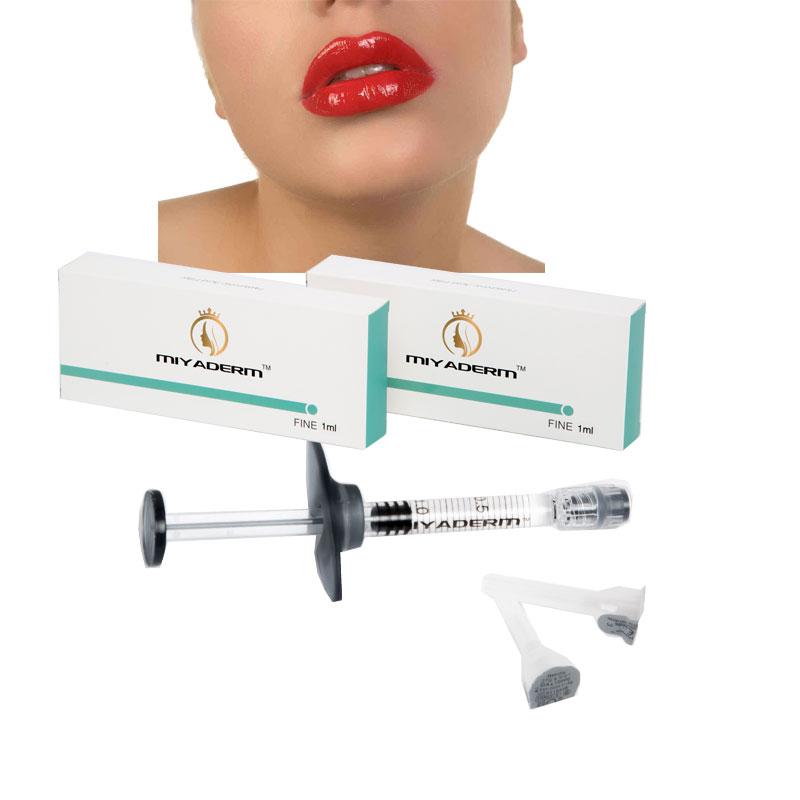 1ml glass syringe acid hyaluronic injection liquid filler for lip