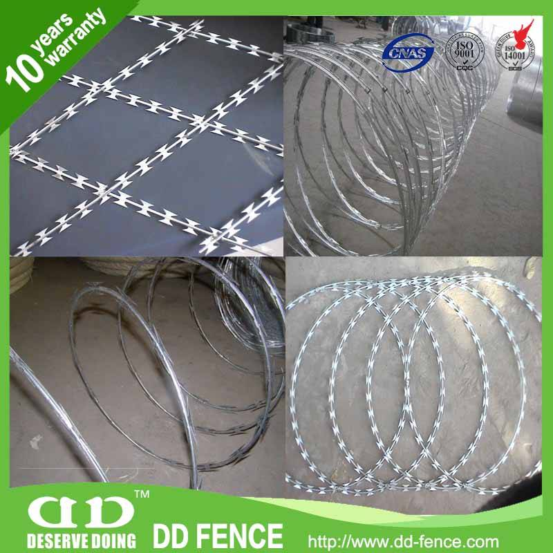 China manufacturer concertina razor wire