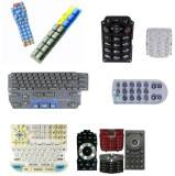 Friendly Soft Molding Silicone Rubber Waterproof TV Remote Control Keypad Silicone Cell Phone Keypad