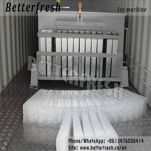 Dongguan Betterfresh manufacturer block ice machine