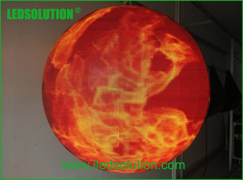 P4.8 Indoor Full Color Sphere LED Ball Display
