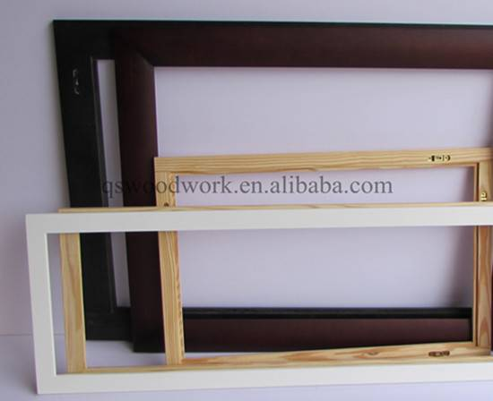 Solid wood mirror frame high quality