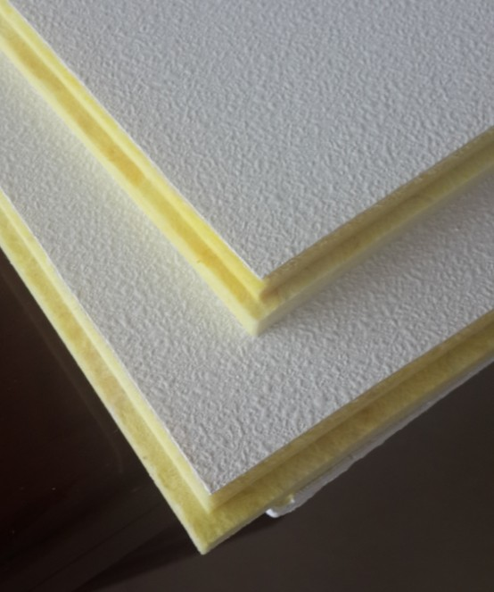 sound absorbing fiberglass ceiling board