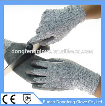 High Quality 13 Gauge Knitted Cut Resistant Gloves