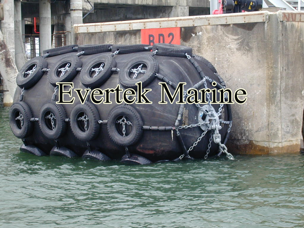 marine inflatable dock fender