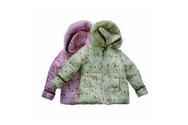 Children's Jackets with Detachable Hood