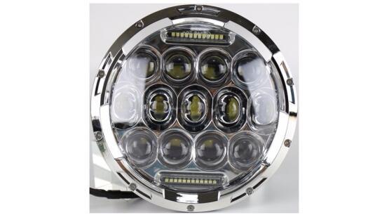 IP67 75W 7inch Round Jeep LED Headlight