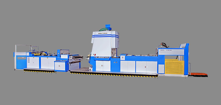 ZLFM-1100 Automatic vertical film laminating machine