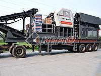 Rubber-tyred Mobile Crushing Plant