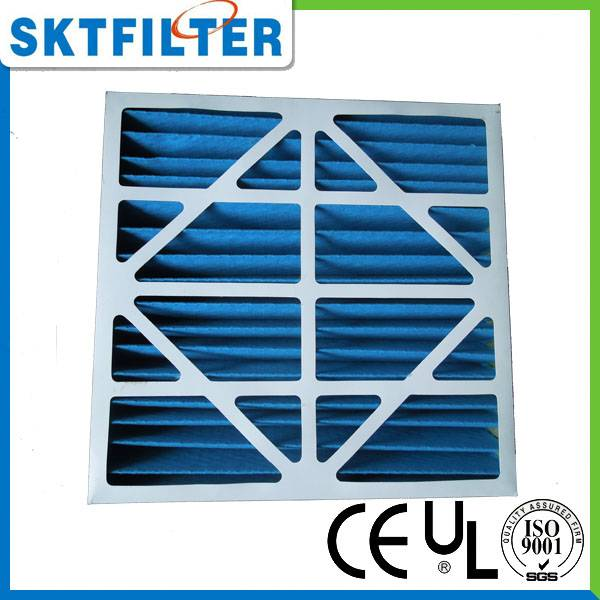 Pleated air pre- filter
