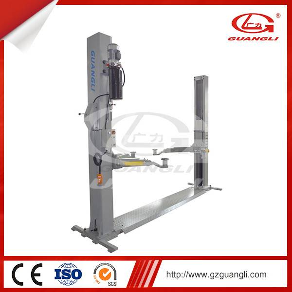 Guangli Brand 2 Post Double Cylinders Hydraulic Car lift