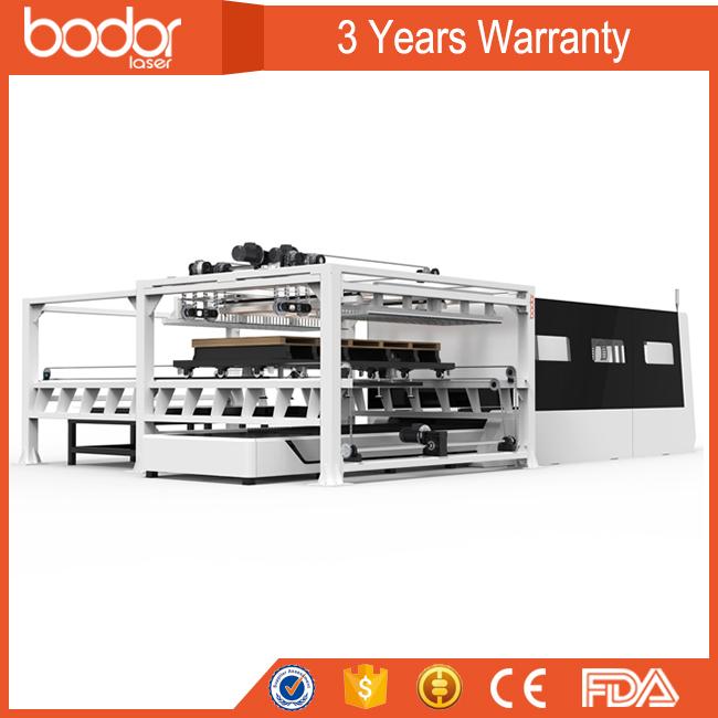 automatic loading fiber laser cutting machine with swiss design europe standard 3years warranty