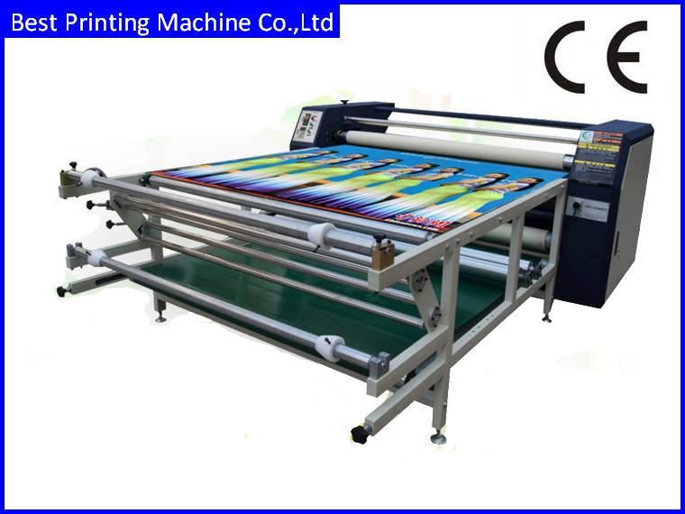BC420/2000 Roll to roll heat transfer machine