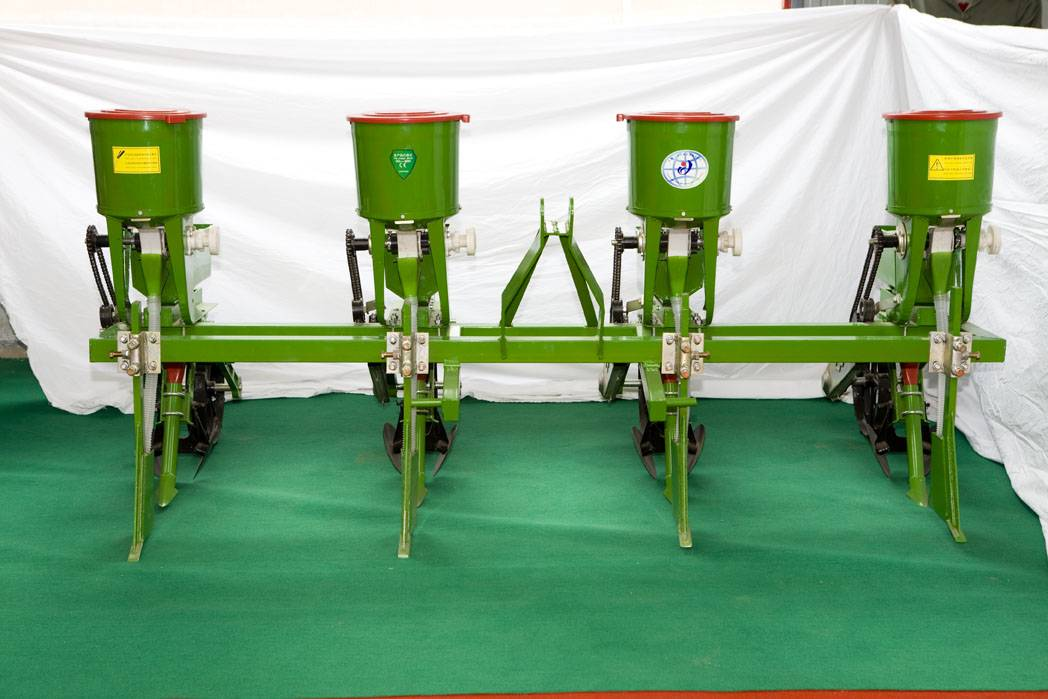 soy bean and corn seeder