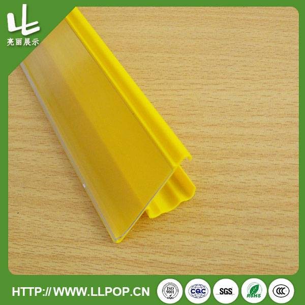 Yellow Colored Price Label Holder