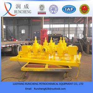petroleum mechinery oil or gas field use wellhead test manifold