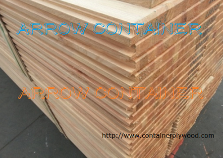 Container wood plank