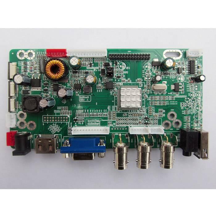 CCTV Monitor BNC Driver Board With VGA/HDMI/USB/BNC/Audio Model JX-V2959-AVM+LED