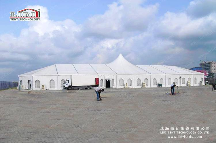 25x60m 2500 people wholesale Church tents for sale in Africa