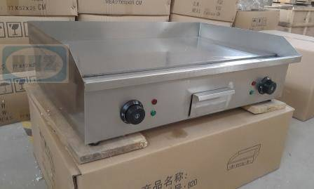 Stainless steel Electric griddle/ table top flat plate griddle--820