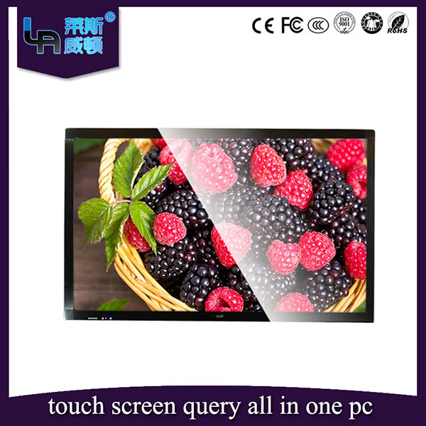 LASVD 98'' 4K touch screen Ultra HD large table interactive Smart 3D LCD TV All-in-one PC