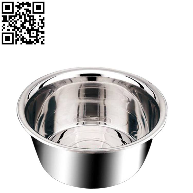 Stainless steel basin ZD-DP03