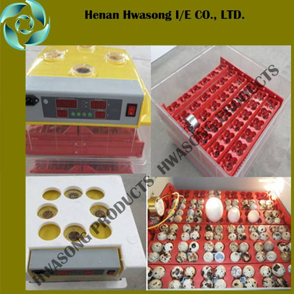 Fully Automatic Controlling Capacity 96 Eggs Hatching Incubator  fro Hot Sale