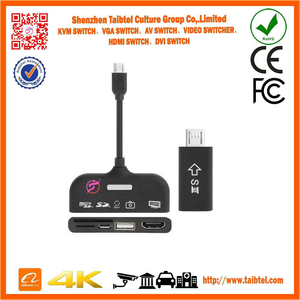 5 in 1 MHL to HDMI Connection Kit