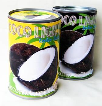 Canned Coconut Milk by Delight Global