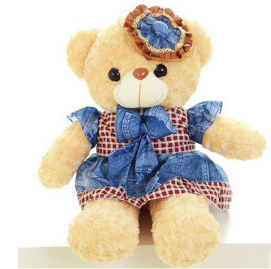 Plush Teddy Bear With Dress