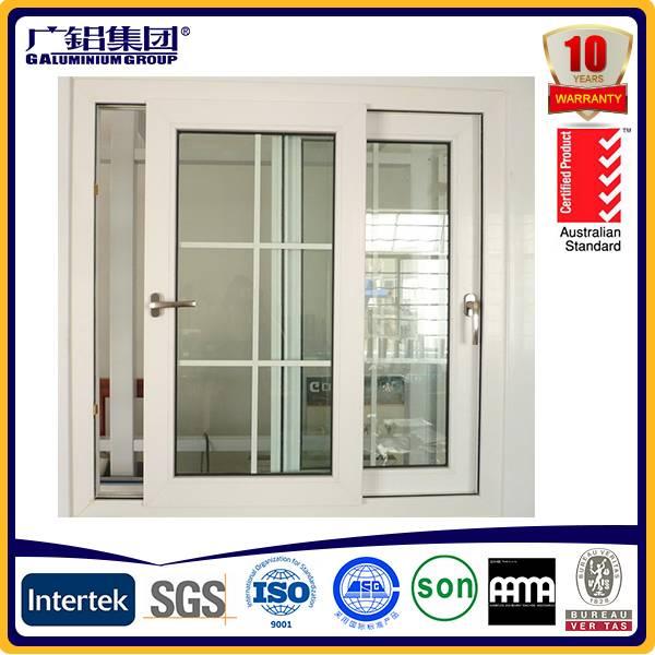 Horizontal aluminium windows, double glazed units, aluminium frames for sliding windows