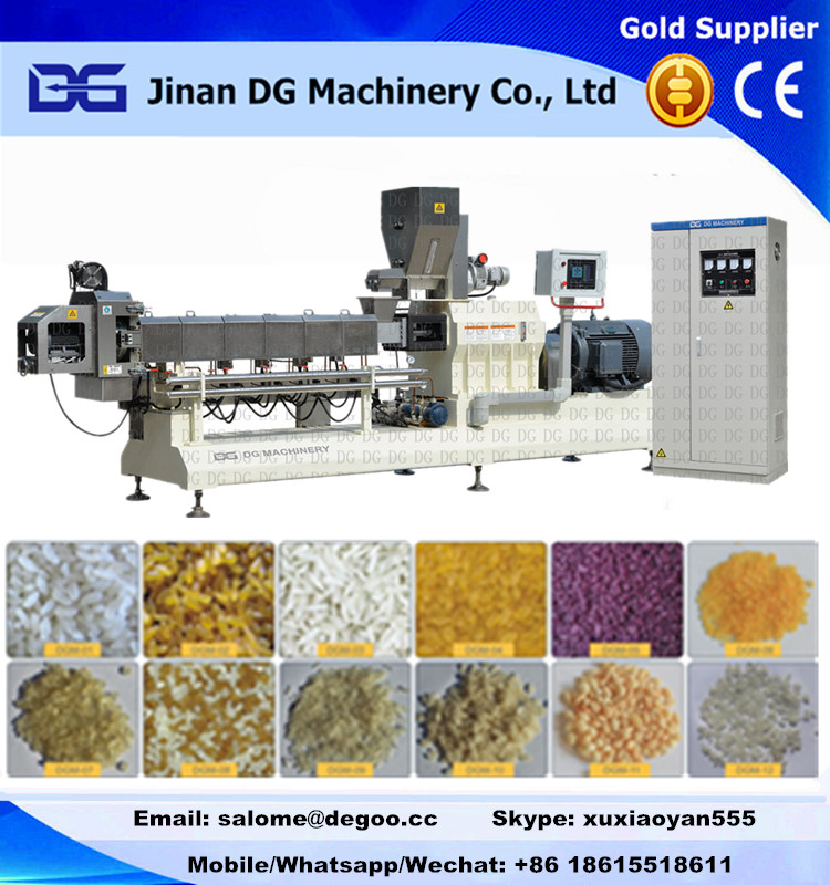 Artificial/Nutritional/Reconstituted/Enriched/Man made rice making machine production line