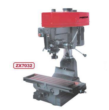 bench drilling and milling machine ZX7032/driller and miller/drilling machinery