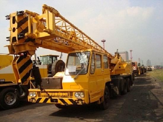 Used Truck Crane KATO NK200E