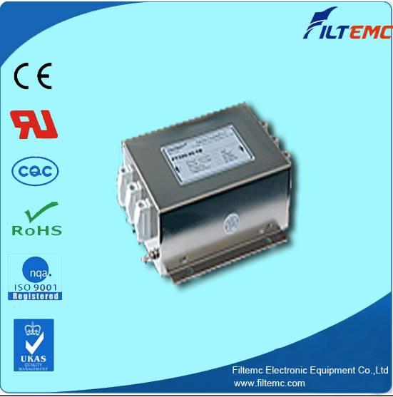 AC 3 phase 3 line series filter T3 terminal block/EMI filter