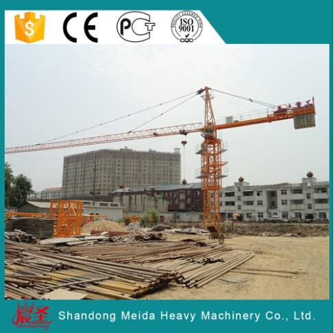 High Quality Large Capacity 25ton Hydraulic Tower Crane QTZ7550