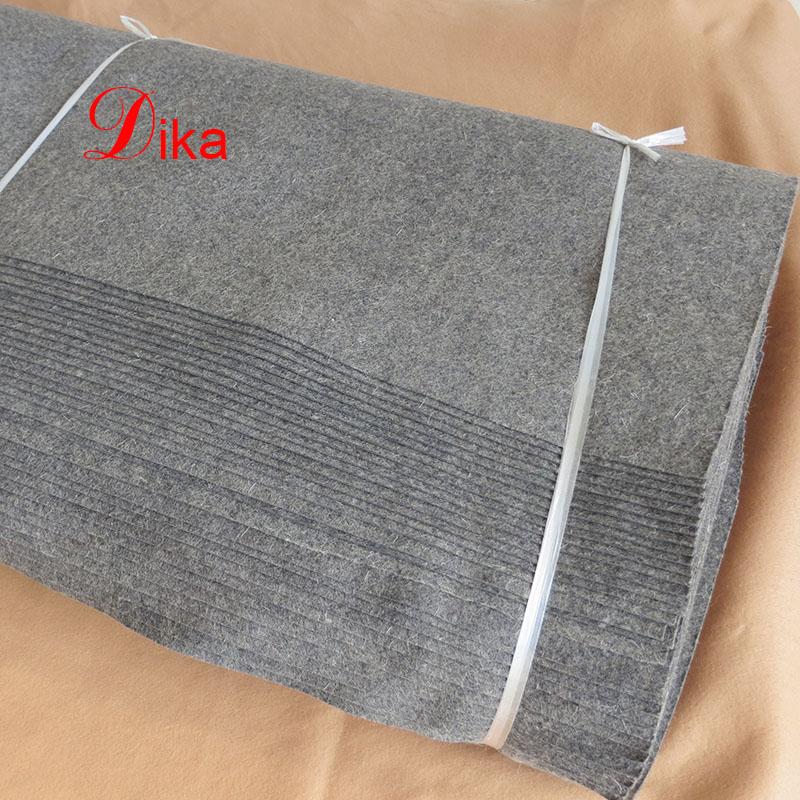 2mm gray color pressed sauna wool felt