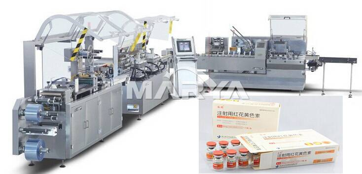Tablet and Capsule Blister packing and cartoning production line