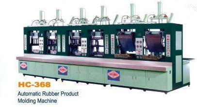 EVA SECOND FOAMING MOLDING MACHINE...... AUTOMATIC RUBBER PRODUCT MOLDING MACHINE