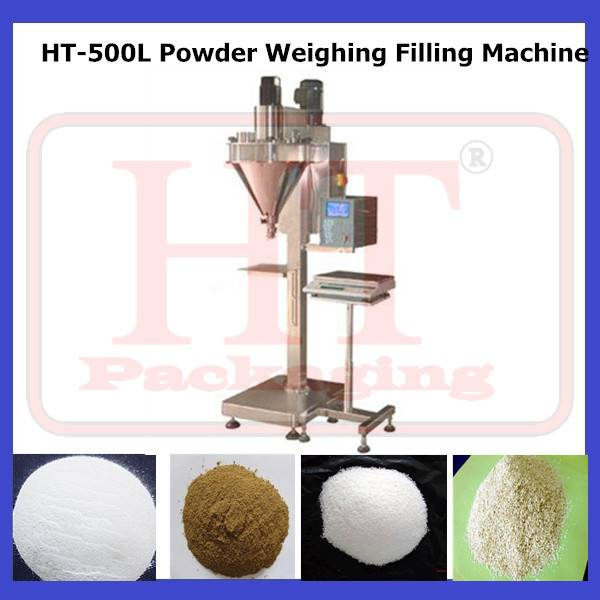 HT-500L Chemical Powder Weighing Filling Machine