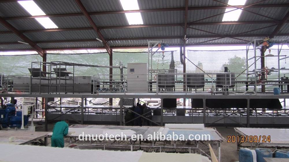 FRP lighting sheet double-layer production line