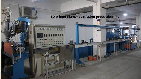 High efficiency 3D printer filament extrusion production line