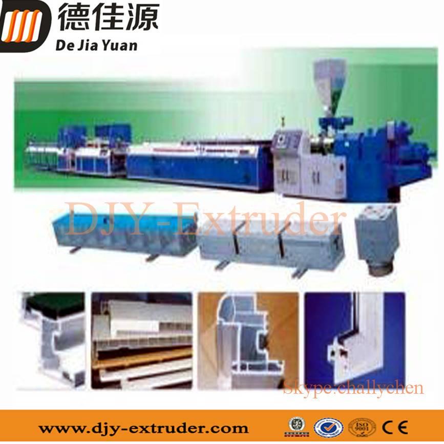 Plastic PVC/WPC foam plate/sheet extrusion line