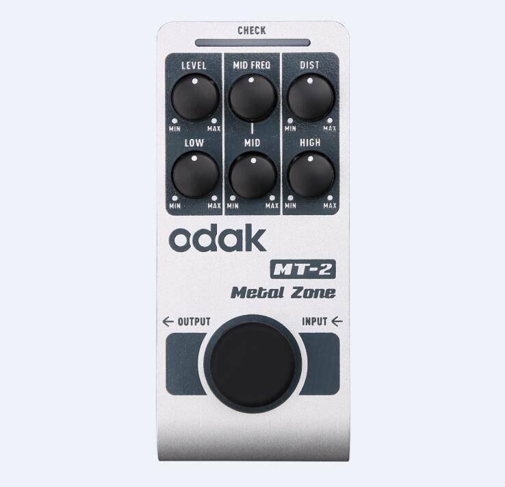 odak MT-2 odak New Style Guitar Effect Pedal Mega Distortion guitar effects pedals OEM guitar pedal