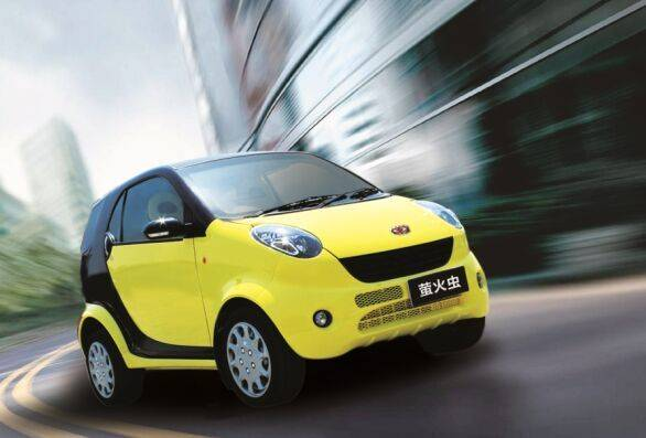 Green environment electric vehicle cars fire beetle