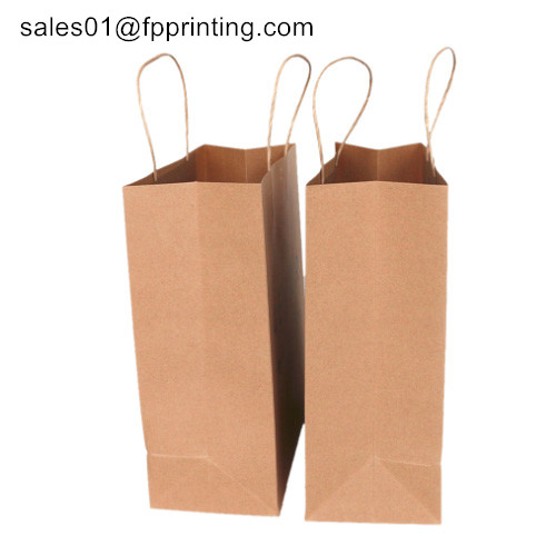 100% Recyclable craft paper bag / shopping bag